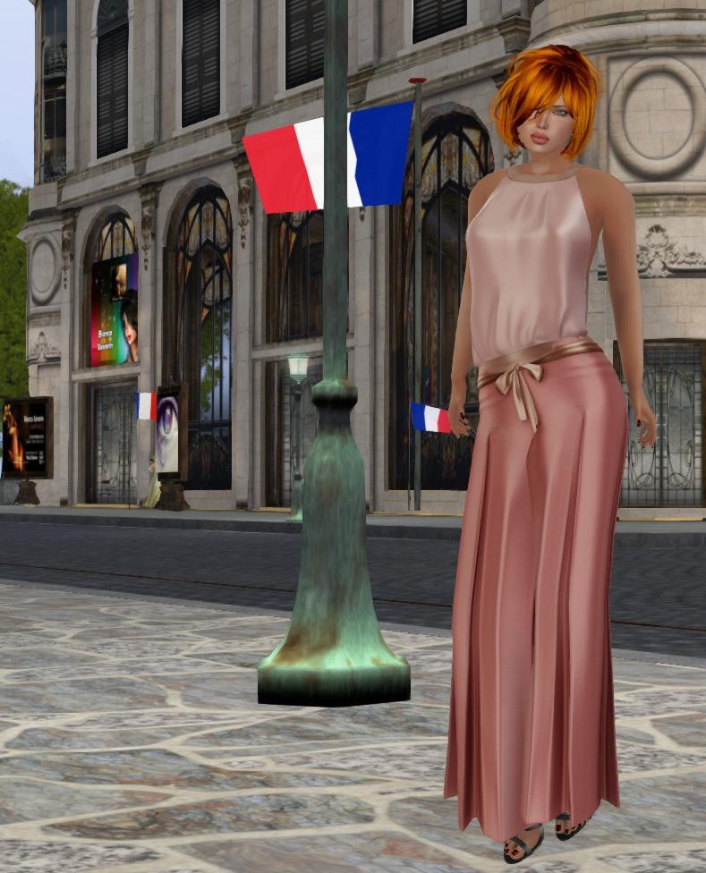 Giana pants suit