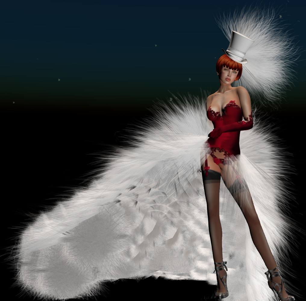 burlesque red dove_001