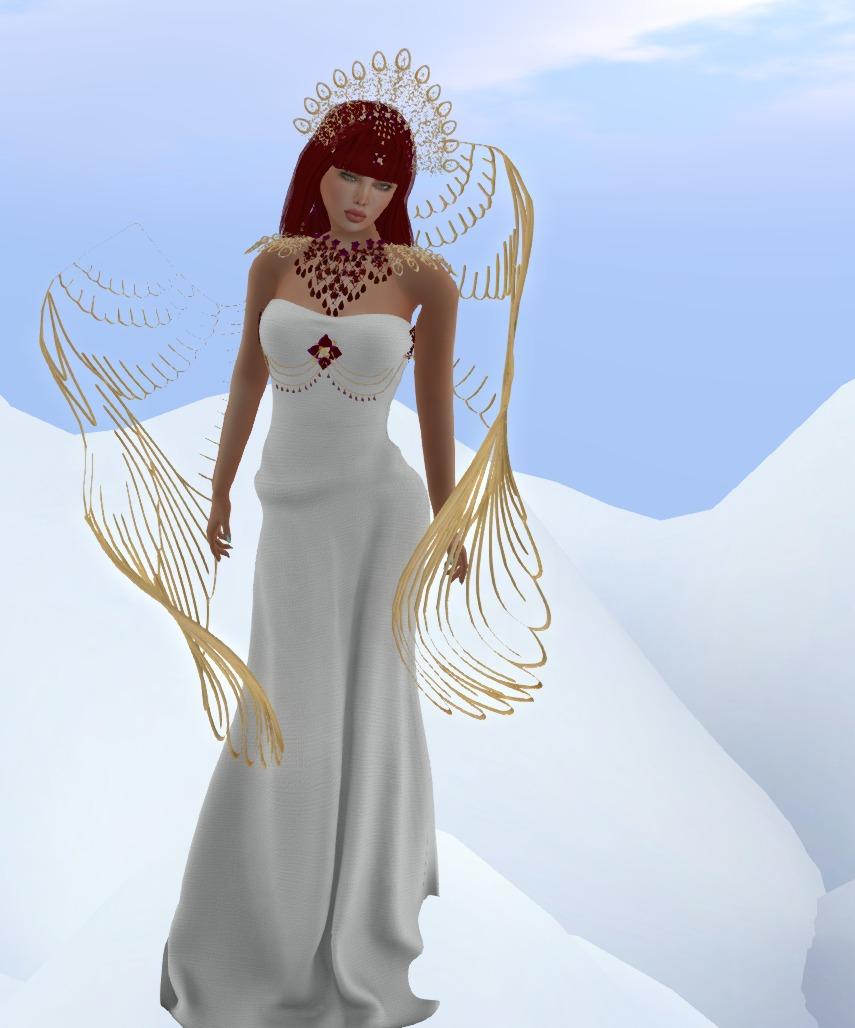 ALB Christmas Angel gown